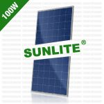 harga panel surya 100 wp, harga panel surya 100 wp 2017, harga panel surya, Solar Cell Sunlite 100 Wp Polycrystalline