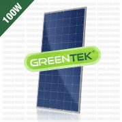 Jual Panel Surya 100 WP GREENTEK Polycrystalline
