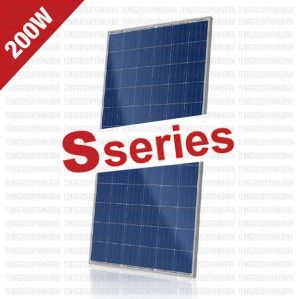 Jual Panel Surya 200 WP 24V SSERIES Polycrystalline
