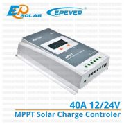 MPPT Solar Charge Controller 40A 12/24V