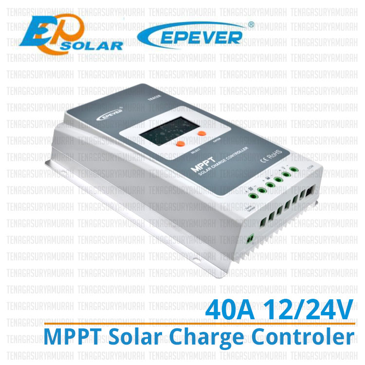 Tracer4210A, solar charge controller, controller solar cell, controller panel surya, jual mppt solar charge controller , controller 40a, mppt controller